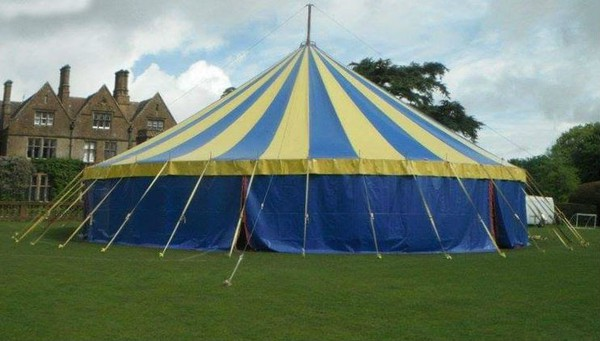 Big top venue hire