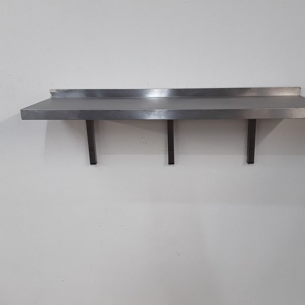 Used Stainless Steel Wall Shelf (9006)