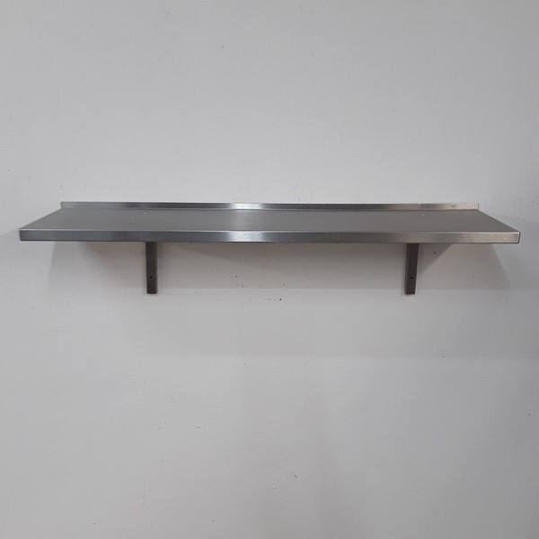 Used Stainless Steel Wall Shelf (9005)