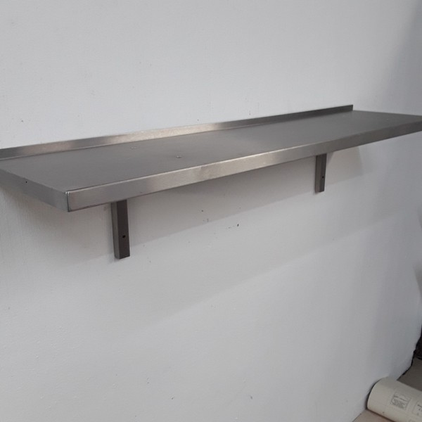 Used Stainless Steel Wall Shelf for sale (9005)