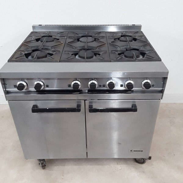 Used Falcon Dominator  6 Burner Range Cooker (9004)