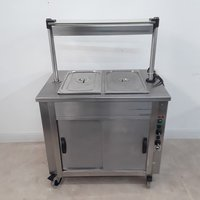 Used Moffat Hot Cupboard Heated Gantry Trolley (9003)