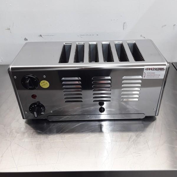 Used Rowlett 6ATS-151 6 Slot Toaster (9000)