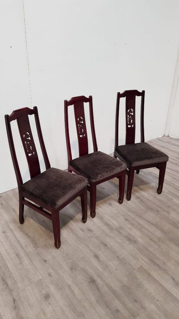 Wanlee high back dining chairs