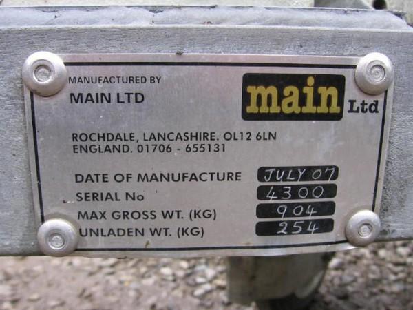 Main Ltd trailer