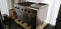 Fagor 4 Burner Oven With Griddle Plate - Wellingborough, Northamptonshire