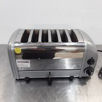 Used Dualit  6 Slot Toaster (9032)