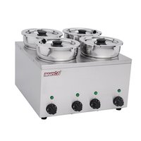 Brand New Imettos 101050 4 Pot Wet Bain Marie (9015)