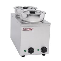 Brand New Imettos 101048 2 Pot Wet Bain Marie (9016)