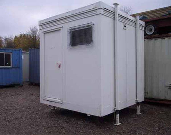 8' x 8' (2.4m x 2.4m) Plastic Coated Steel Shower Unit