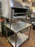 Brandamatic Falcon Steakhouse Plus Gas Salamander Grill