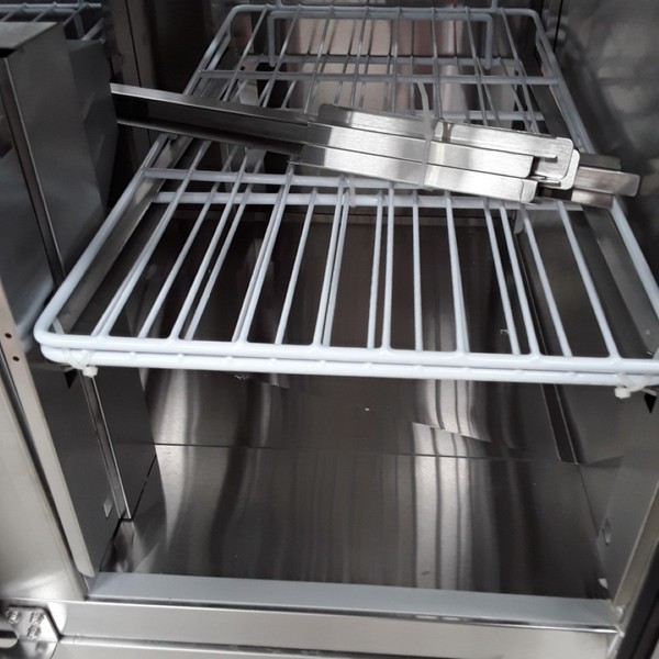 Brand New Atosa Ice-A-Cool ESL3854GR 3 Door Bench Fridge Saladette(AW9043)