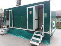 3 + 1 Mobile toilet trailer for sale