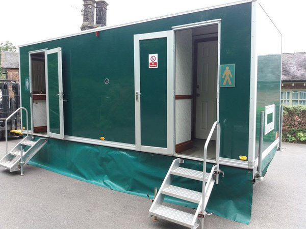 3 + 1 Mobile toilet trailer for sale