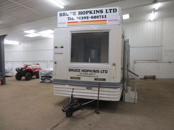 Used exhibition trailer