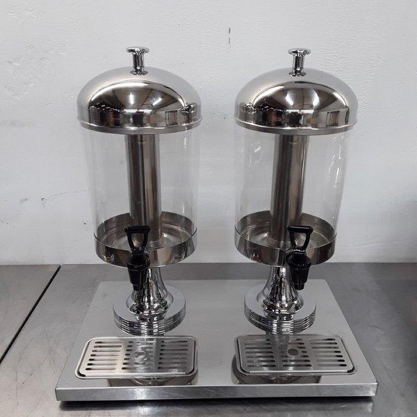 New B Grade Atosa  Double Juice Dispenser(9063)