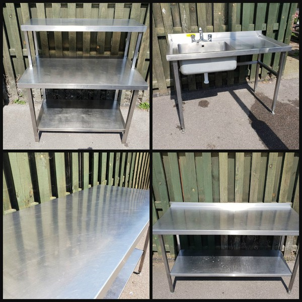 Used stainless steel tables for sale London