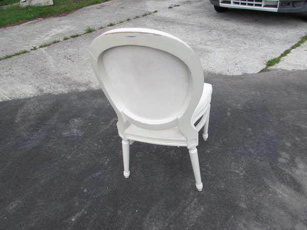 Spoon back French Louis Style chairs