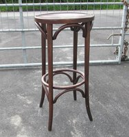 High bar stool - bentwood style