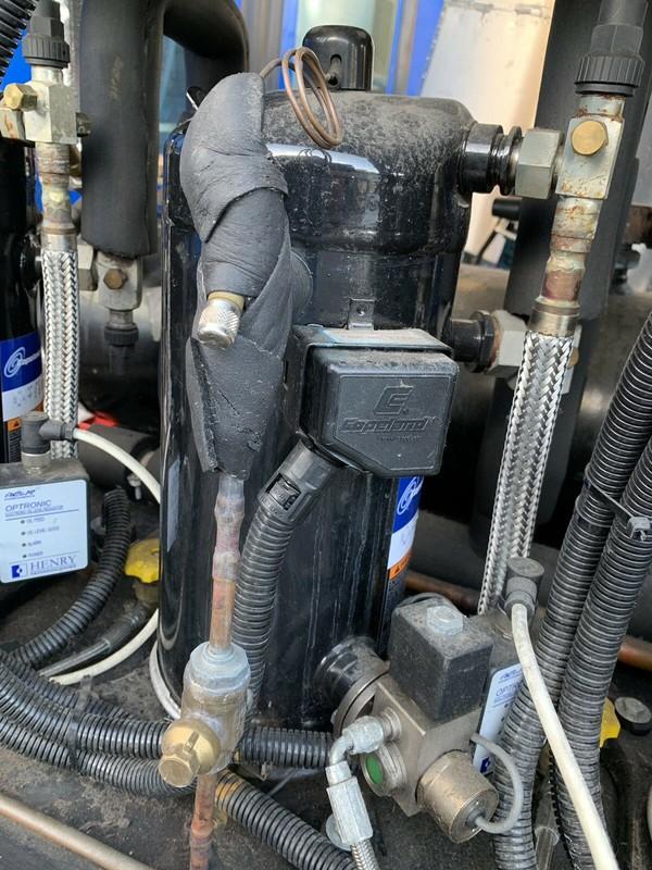 Coperland compressor