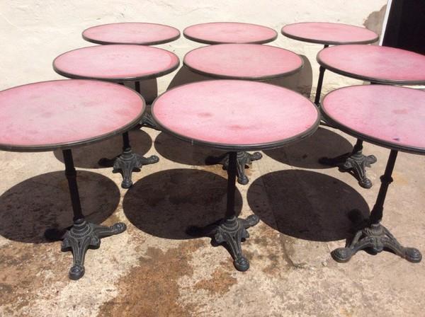 9x Outdoor Tables (CODE OT 170)