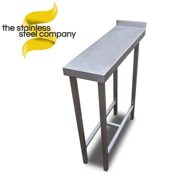 Stainless steel infill table