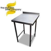 Stainless steel table 600mm