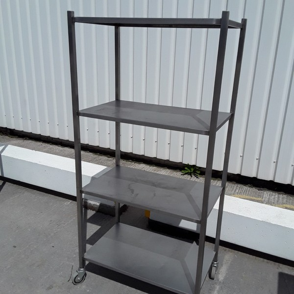 Used   Stainless Steel Rack Shelf	(9074)