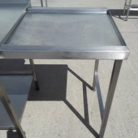 Used   Stainless Steel Dishwasher Table	(9071)