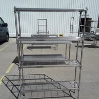 Used Stainless Steel Rack Shelf (9069)