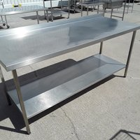 Used Stainless Steel Table (9068)