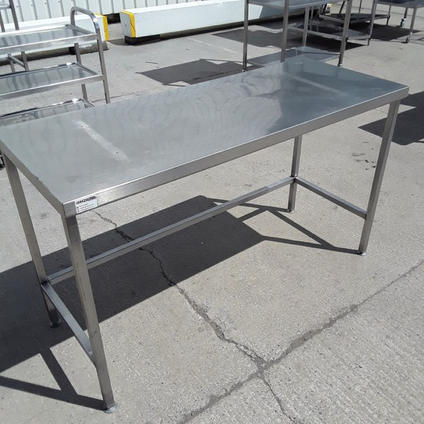 Used   Stainless Steel Table(9067)