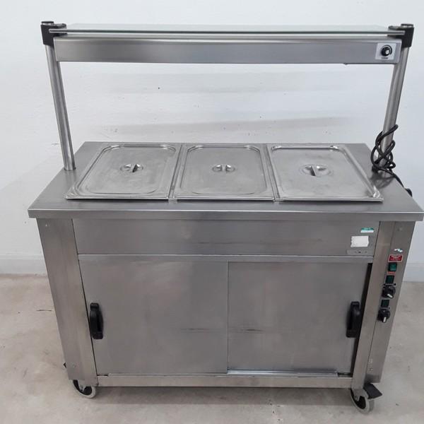Used Moffat  Hot Cupboard Heated Gantry Trolley(9077)