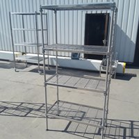 Used Craven  Stainless Steel Rack Shelf	(9088)