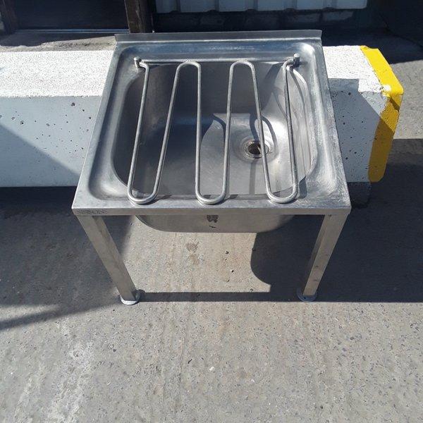Used Sissons  Stainless Steel Janitor Sink (9087)