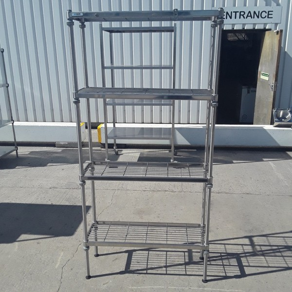 Used Craven  Stainless Steel Rack Shelf	(9085)