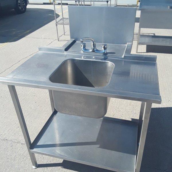 Used   Stainless Steel Single Bowl Dishwasher Sink(9083)