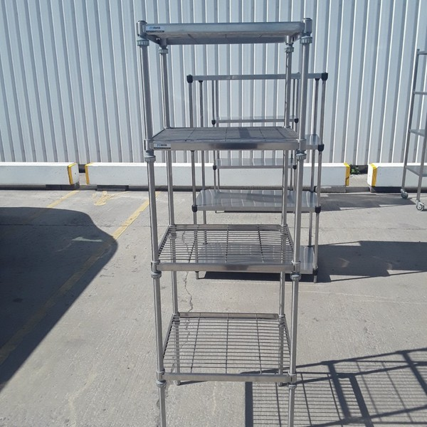 Used Craven  Stainless Steel Rack Shelf	(9082)
