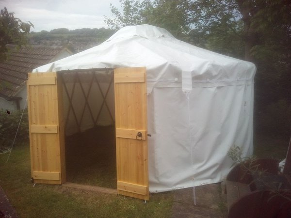 16Ft Yurt with PVC roof
