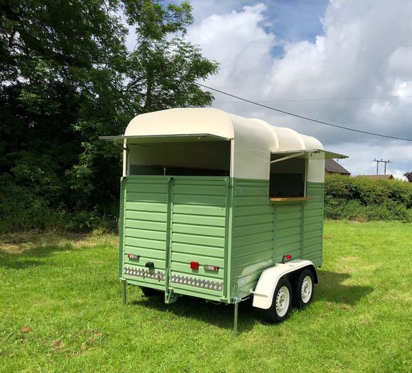 Catering trailer horse box
