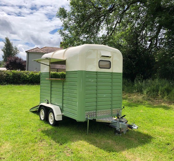 Refurbished vintage Rice trailer