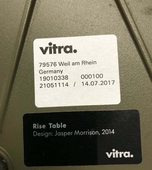 Secondhand Vitra Rise tables