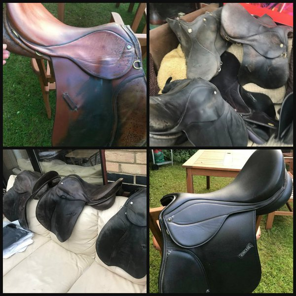 Ex riding school saddles for sale