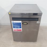 Used Foster HR150 Stainless Single Undercounter Fridge	(9100)