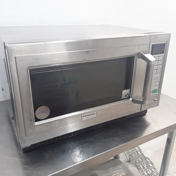 Used Panasonic NE-C1275 Combi Microwave Oven 1800W(9098)