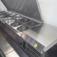 Used Blizzard TOP1500EN Chilled Pizza Salad Topper	(9097)