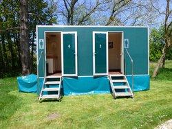 2 + 1 Luxury toilet trailer for sale