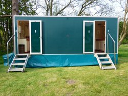3 + 1 Luxury toilet trailer for sale