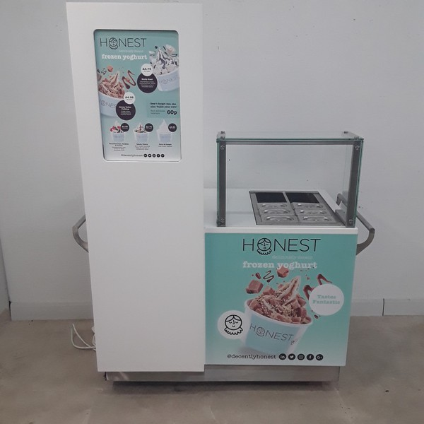 Ex Demo Ice Cream Display Stand (9104)
