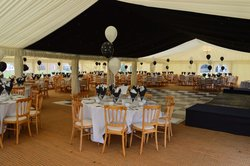 Marshals Clearspan marquee